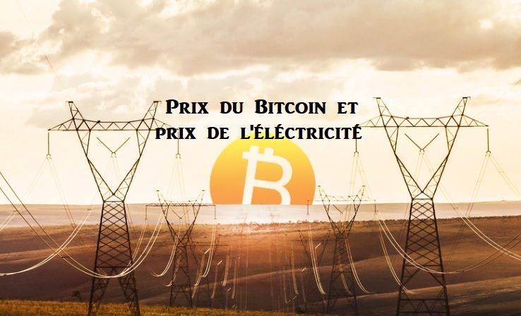 Évaluation du prix du Bitcoin par son coût de production